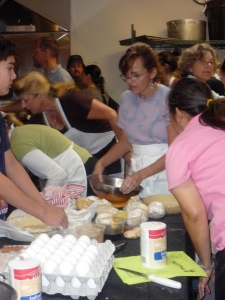 Where are the eggs?