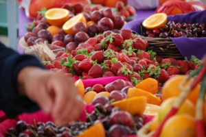 fruit a plenty at the Jeff Faire