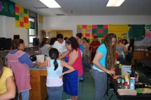 Ms. Sabatini's Chemistry room transformed