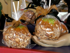 Handfuls of Caramel Apples